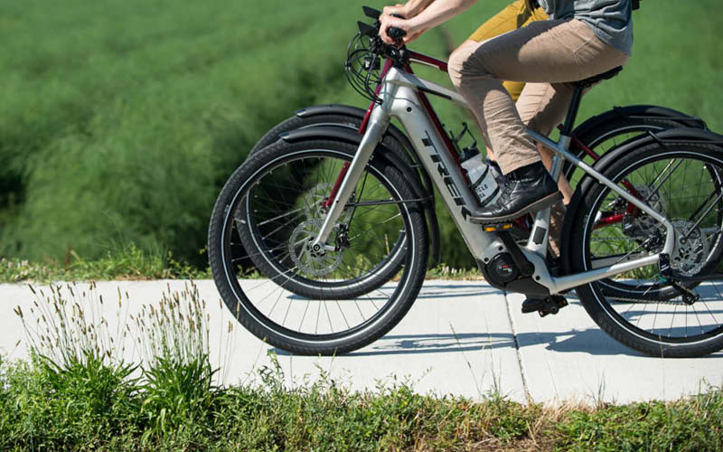 Trek Allant+ 8 commuter electric bike 500Wh