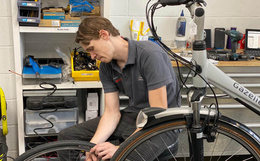 Electric bike maintenance and tire care