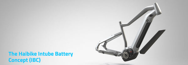 Haibike Integrated Battery Concept