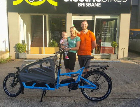 Family chooses Riese & Muller Load e-cargo bike as their family 'car'