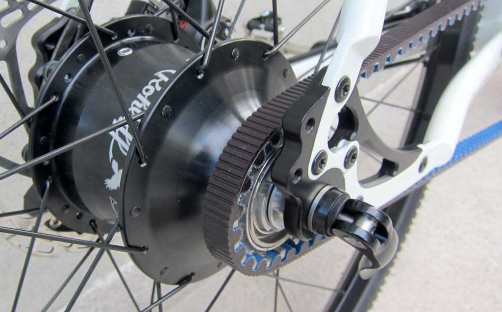 Rohloff gears on Riese & Muller ebikes
