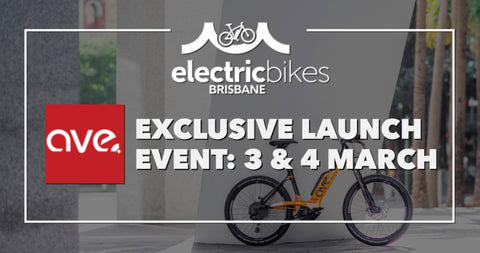 AVE Bike launches Made in Australia electric bicycles at Electric Bikes Brisbane, Milton