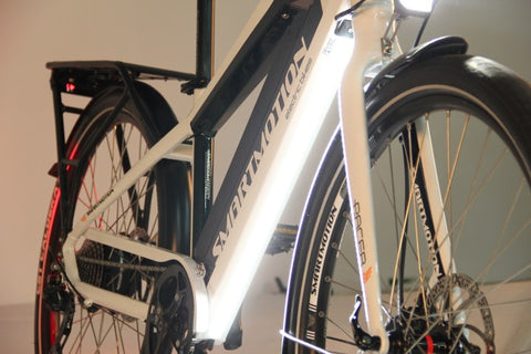 SmartMotion Pacer electric bike light system @ Electric Bikes Brisbane Milton