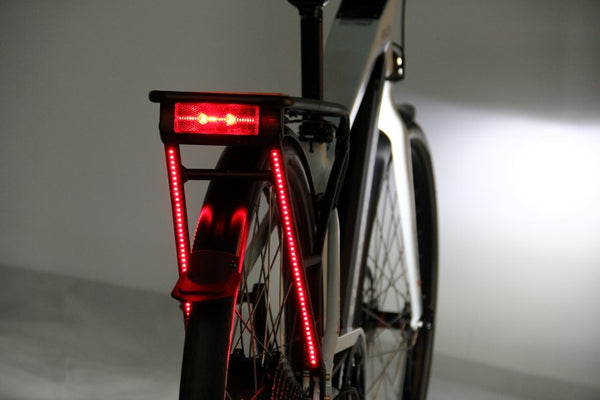 Smartmotion Pacer electric bike lighting system