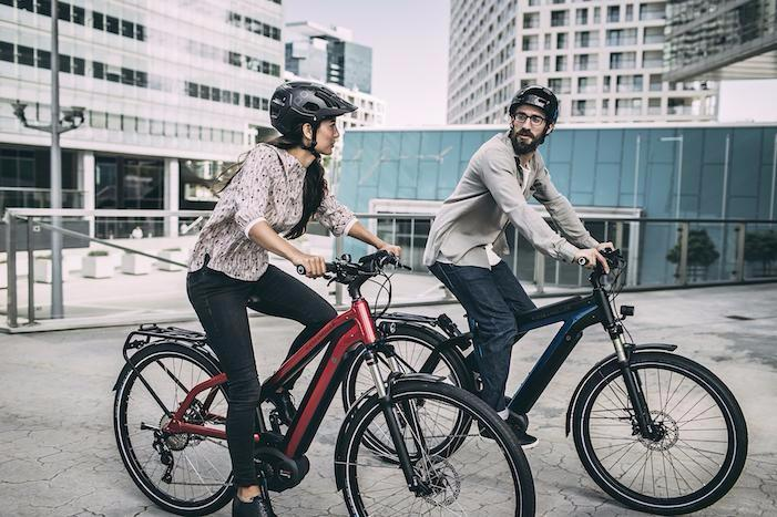 Riese & Muller New Charger Mixte electri cbike