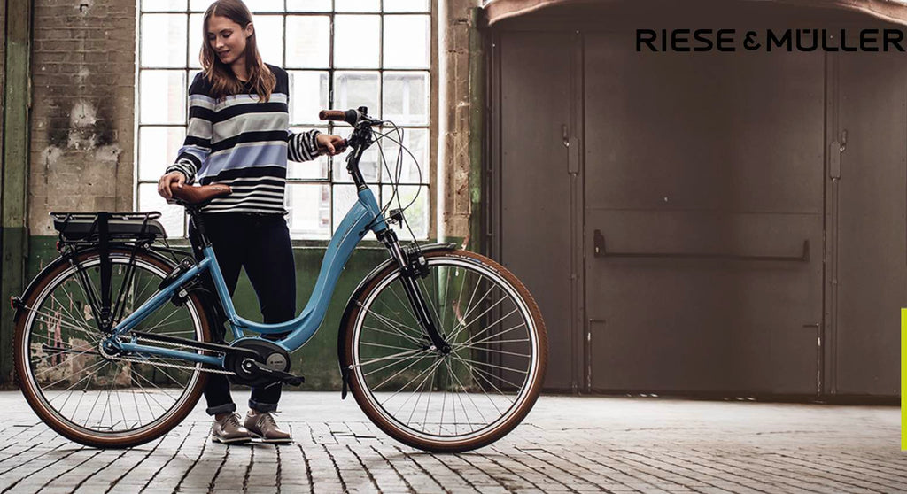 Riese & Muller ebike with internal hub gearing