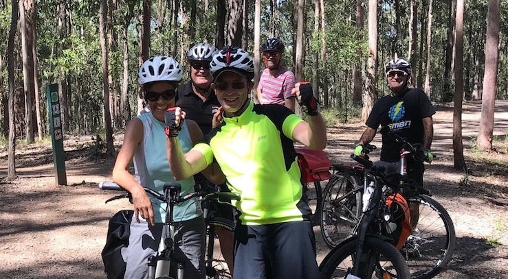 Electric Bikes Brisbane Owners Club ride