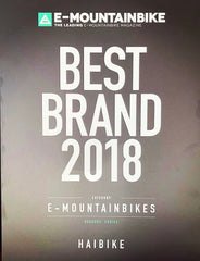 Haibike is Best electric mountain bike brand 2018
