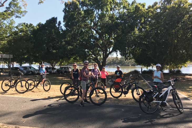 EBB Owners Club Ride - Park Stop 2018