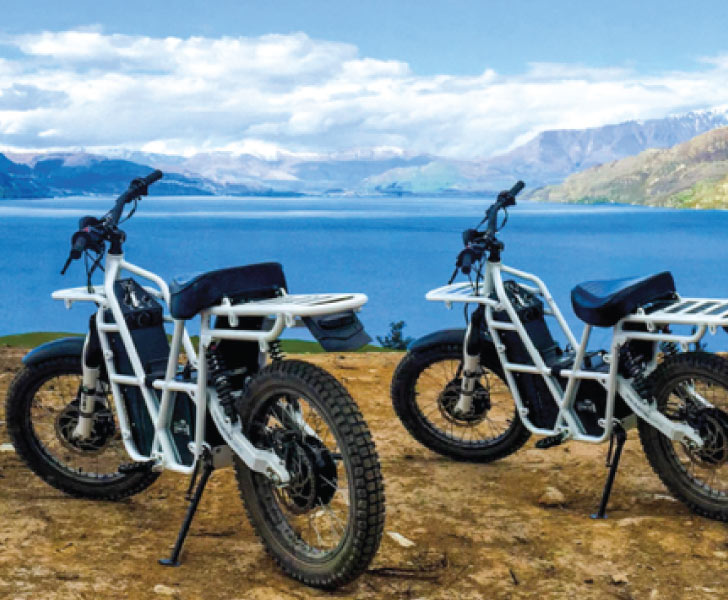 Electric Moped Hire Brisbane - UBCO Outdoors