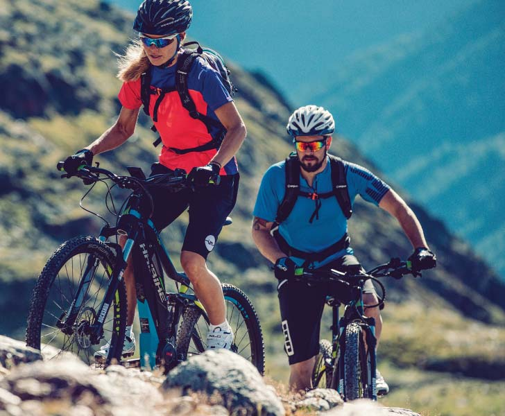 e-Mountain Bike Hire Brisbane - Haibike Couple