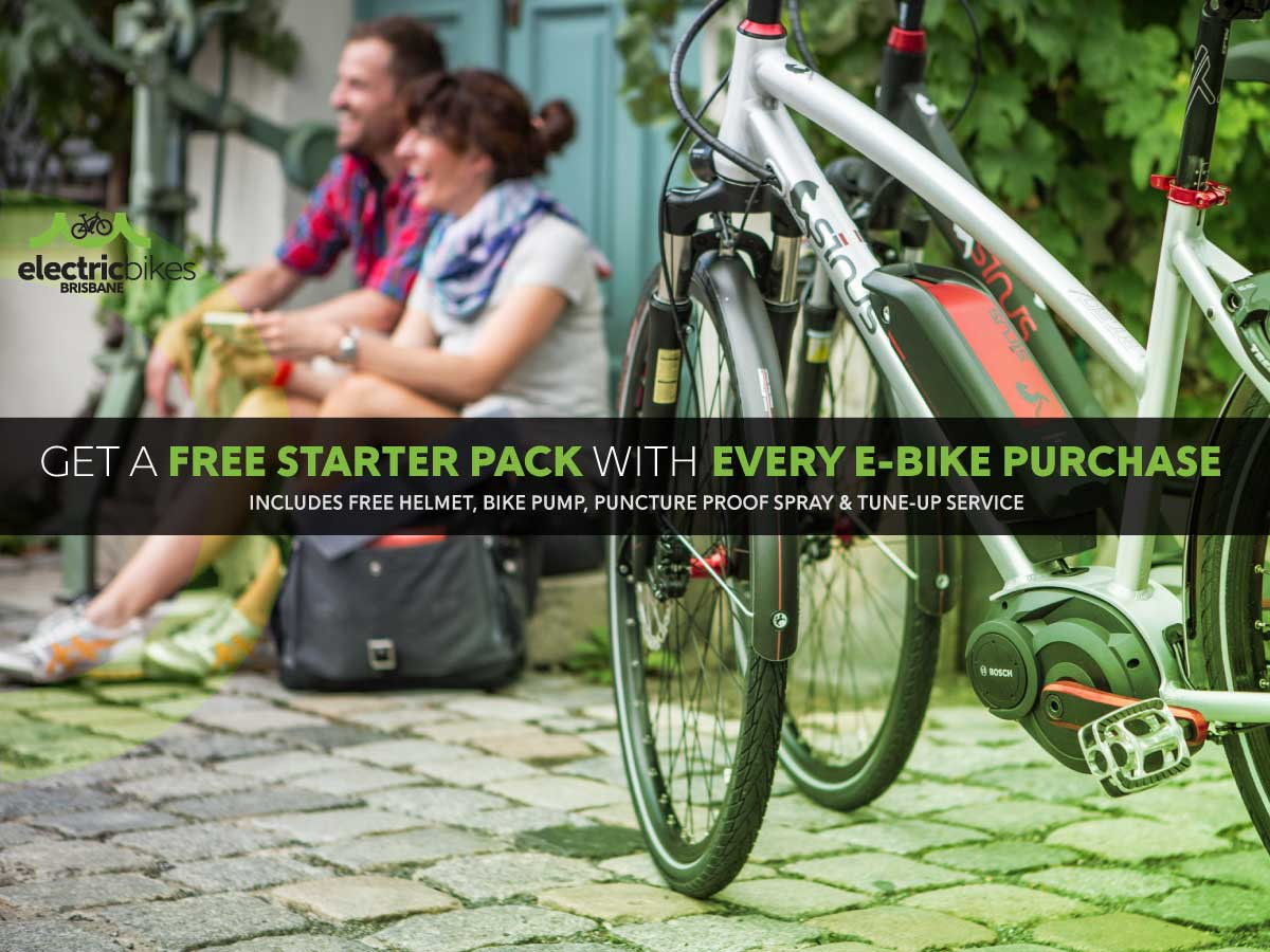 Free Electric Bike Starter Pack