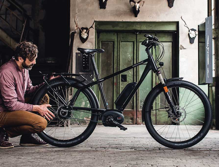 Riese & Müller Charger Touring Electric Bike - lifestyle