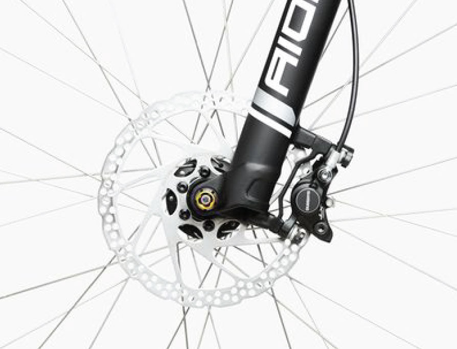 Riese & Müller Charger Touring Electric Bike - Wheel Detail