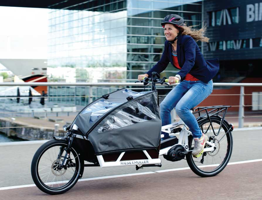 Riese & Müller Load Touring Electric Cargo Bike - accessories to match your load