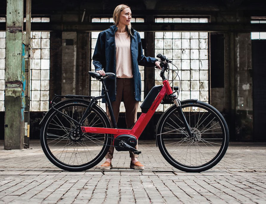 Riese & Müller Nevo Touring Electric Bike - lifestyle