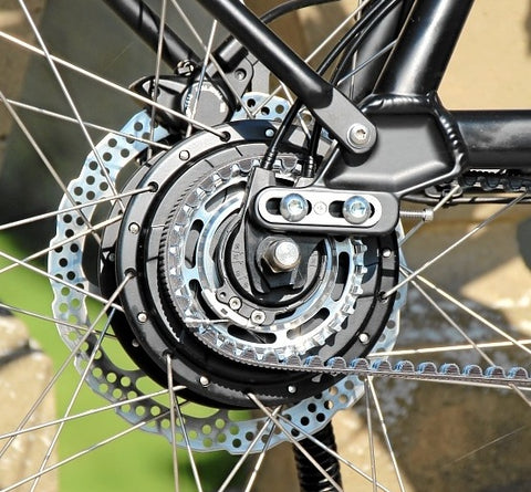 Nuvinci N380 gears and carbon Gates belt drive