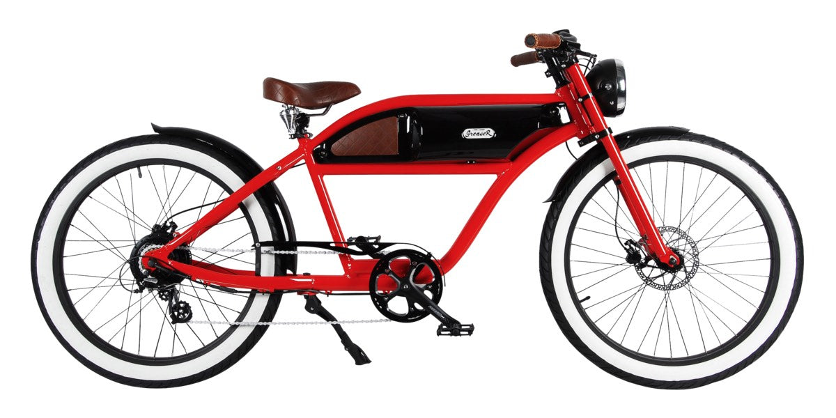 michael blast greaser 500w vintage electric bike. Black Bedroom Furniture Sets. Home Design Ideas