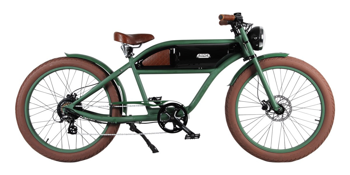 Michael Blast Greaser 500W Vintage Electric Bike