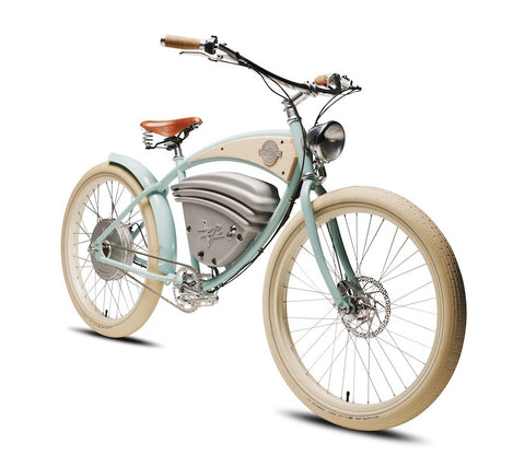 Vintage Electric Cruz electric bicycle @ Electric Bikes Brisbane Milton
