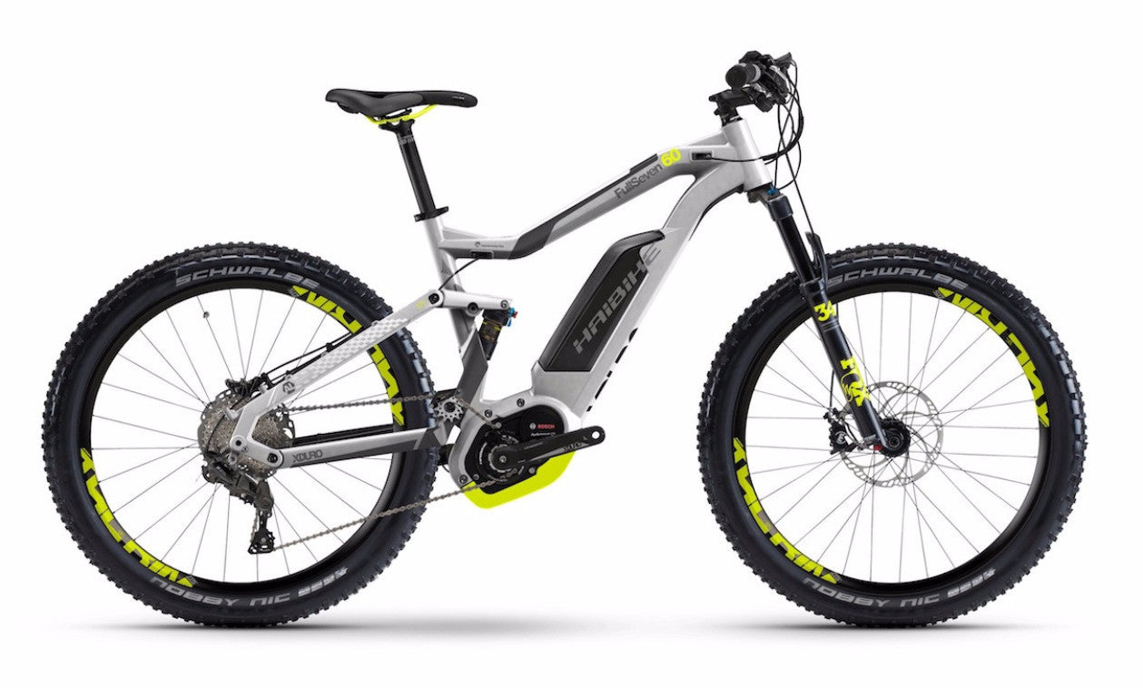 Haibike XDURO FullSeven 6.0 electric mountain bike @ Electric Bikes Brisbane Milton