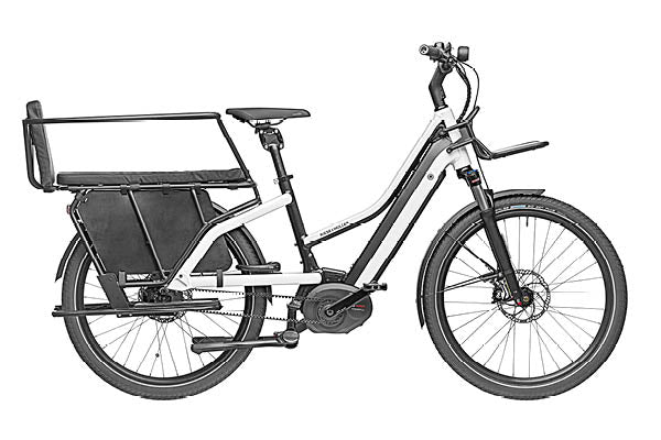 Riese & Muller Multicharger Mixte Vario ebike 2020 with Safety Bar and Wheel Guard