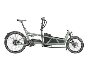 Riese & Muller Load 60 Vario Cargo E Bike 2020 - Tundra Grey with Low Sidewalls