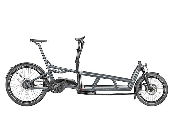 Riese & Muller Load 75 Cargo E Bike 2020 - Coal Grey Matt