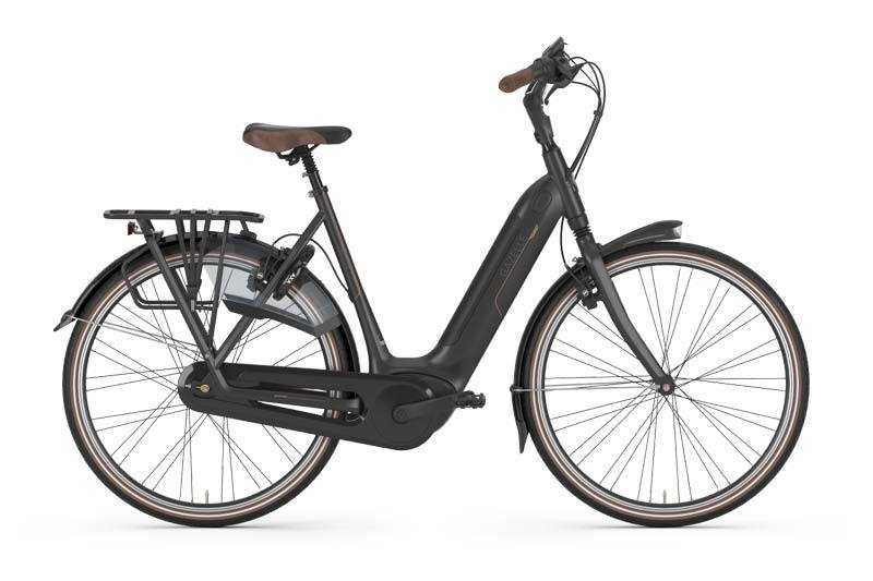 Gazelle Grenoble C8 20 HMB Stepthrough ebike - Black
