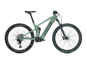 Focus Thron2 6.7 eMTB 500Wh Mineral Green | Electric Bikes Brisbane