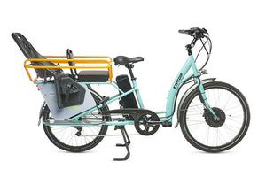 Ezee Expedir Alfine LST Gen3 cargo ebike - with Hoopla and Seats