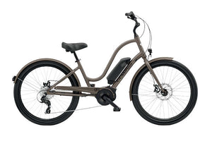Electra Townie Go! 8D Step Thru EBike - Brass Satin | Electric Bikes Brisbane