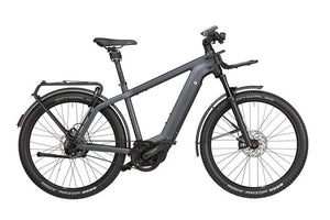 Riese & Muller Charger3 Vario EBike 2020 - Storm blue matt with GX option and front carrier