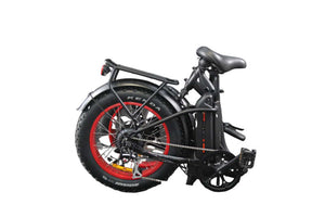 "Earth Ant E-bike 4"" Folding - Folded"