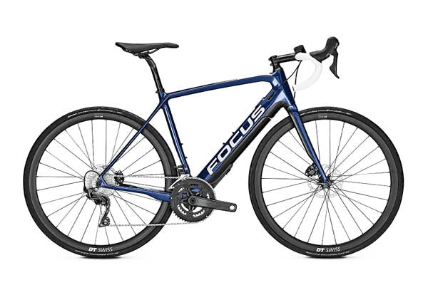Focus Paralane2 9.7 road e-bike - blue