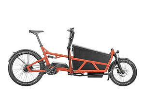 Riese & Muller Load 60 Rohloff Cargo E Bike 2020 - Sunset with Hard Cover