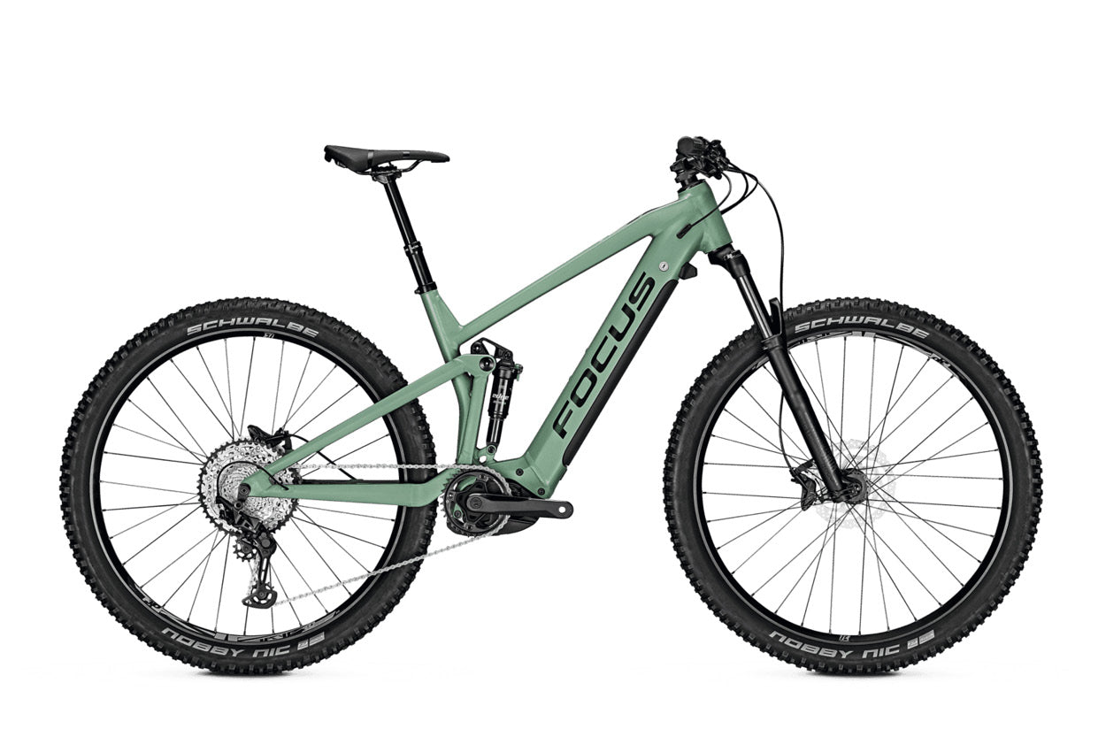Focus Thron2 6.8 EBike 625Wh Mineral Green | Electric Bikes Brisbane