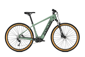 Focus Jarifa2 6.8 Nine ebike 625Wh Mineral Green | Electric Bikes Brisbane