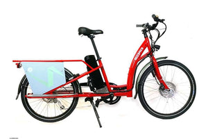 Ezee Expedir Alfine LST Gen3 cargo ebike - Red