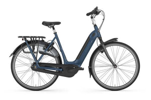 Gazelle Grenoble C8 20 HMB Stepthrough ebike - Blue