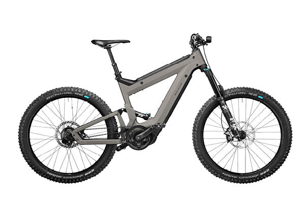 Riese & Muller Superdelite Mountain Rohloff ebike, Warm silver | Electric Bikes Brisbane