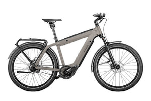 Riese & Muller Supercharger2 Rohloff ebike, Silver | Electric Bikes Brisbane