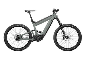 Riese & Muller Superdelite Mountain Rohloff ebike, Tundra grey | Electric Bikes Brisbane