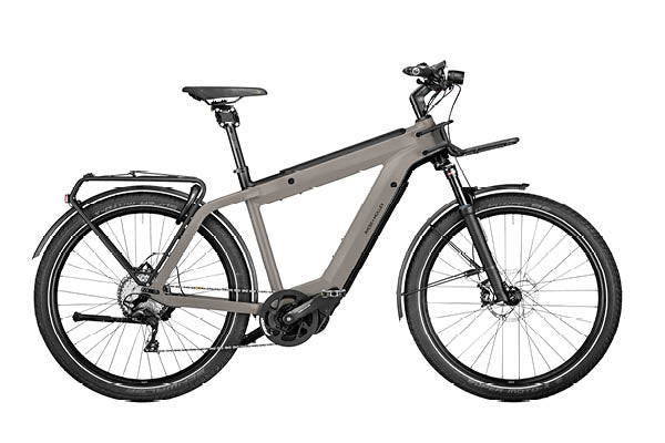 Riese & Muller Supercharger2 Touring ebike, Warm silver | Electric Bikes Brisbane