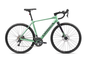 Orbea Gain D20 road ebike Pastel Green | Electric Bikes Brisbane
