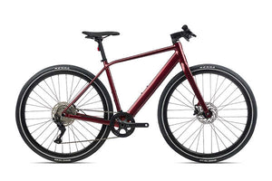 Orbea Vibe H30 eBike 2021, Metallic Dark Red