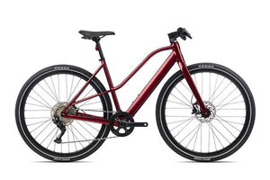 Orbea Vibe Mid H30 eBike 2021, Metallic Dark Red
