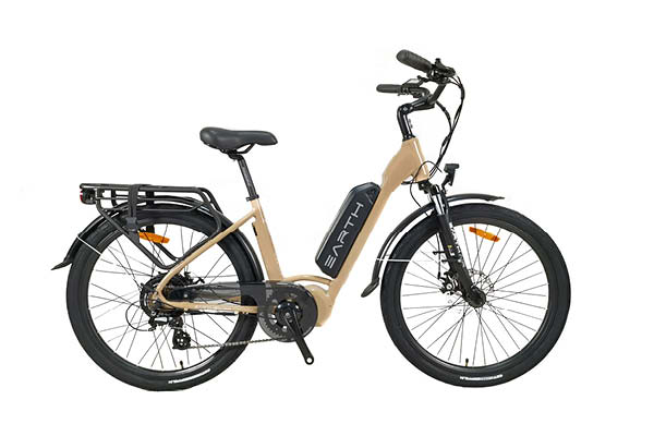 Earth AIR Commuter EBike, Sand | Electric Bikes Brisbane