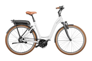Riese & Müller Swing Automatic EBike, Crystal White | Electric Bikes Brisbane