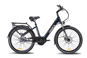 "Ordica Neo Mid 26"" E-Bike, Navy 
